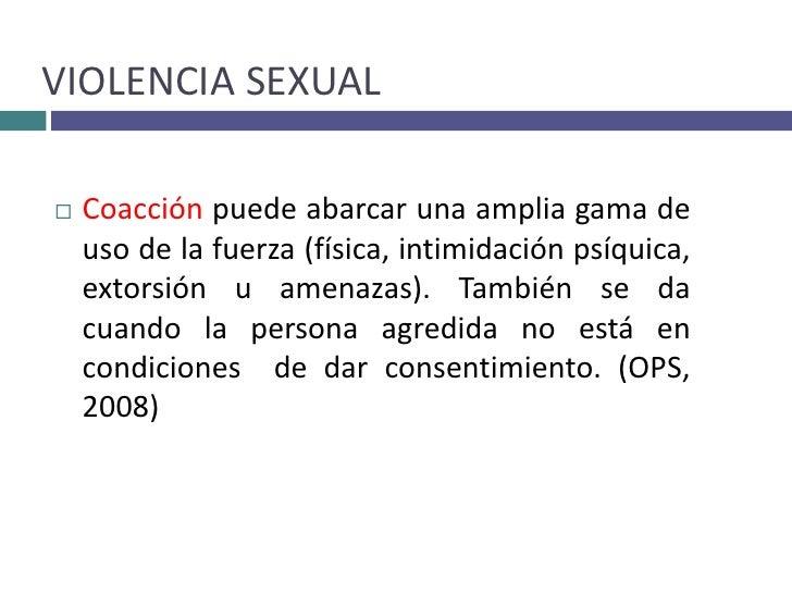 Caracteristicas de una persona abusada sexualmente