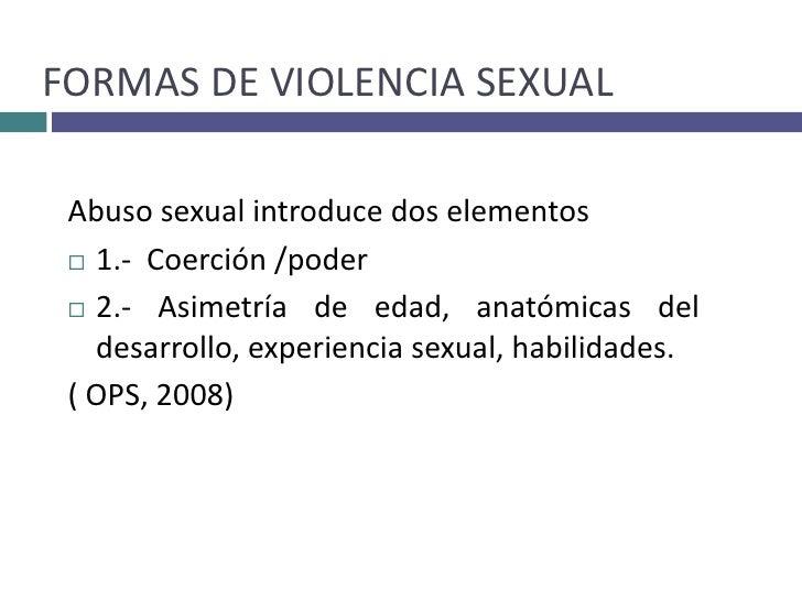 Perfil psicologico de una persona abusada sexualmente