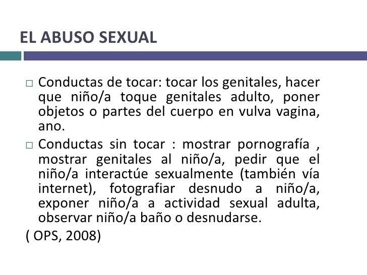 Terapia para una persona abusada sexualmente