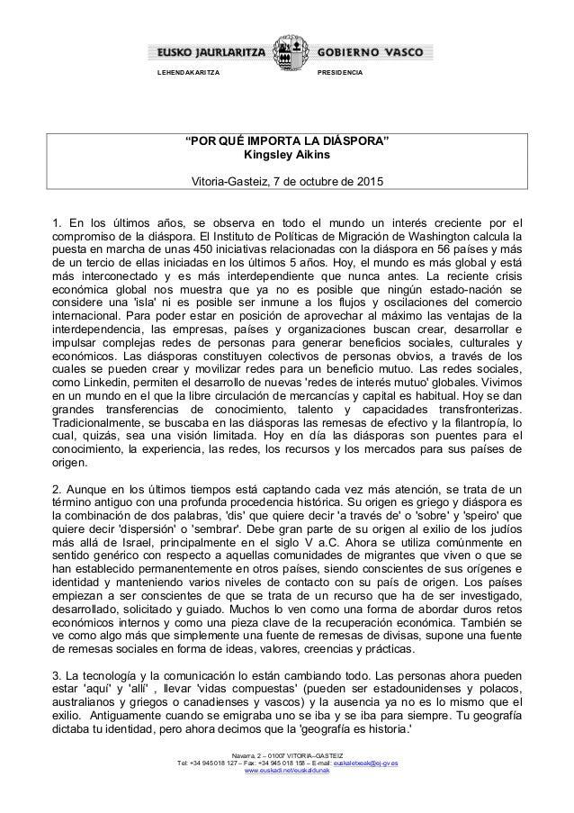 Navarra, 2 – 01007 VITORIA–GASTEIZ Tel: +34 945 018 127 – Fax: +34 945 018 158 – E-mail: euskaletxeak@ej-gv.es www.euskadi...