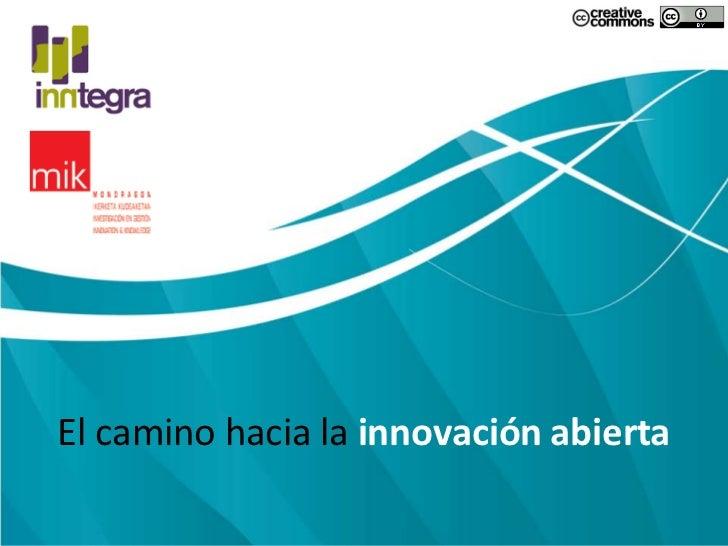 El camino hacia la innovación abierta