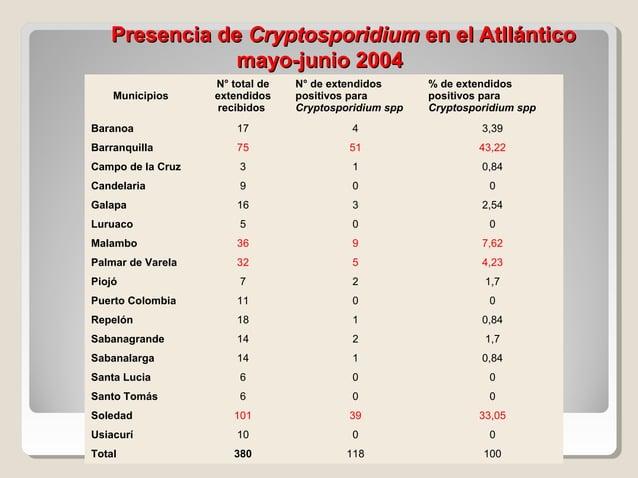 CONDENSADO BUSQUEDA ACTIVA DE PARASITOS OPORTUNISTAS mayo-junio 2007 CLÍNICA CHAR  ADELA  DE  6  6  0  2  2  0  10  10  0 ...