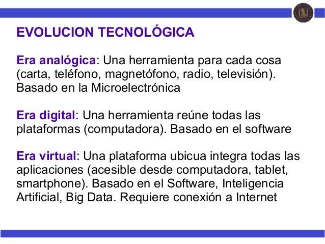 Tecnologias educativas virtuales en los procesos de formación de la Administración pública Slide 2