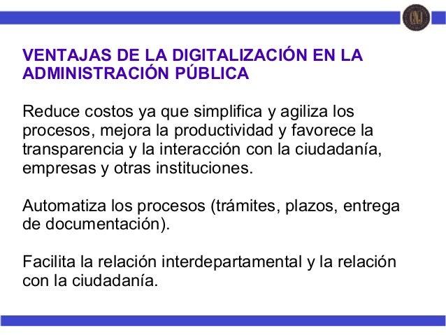 Tecnologias educativas virtuales en los procesos de formación de la Administración pública Slide 3
