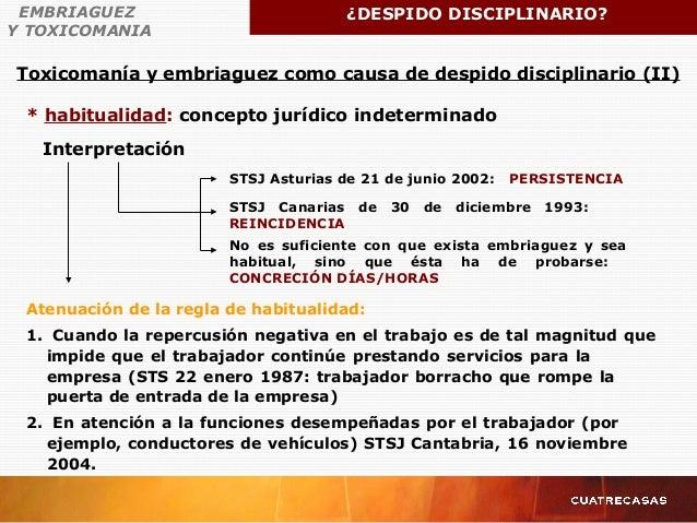 * habitualidad: concepto jurídico indeterminado Atenuación de la regla de habitualidad: 1. Cuando la repercusión negativa ...