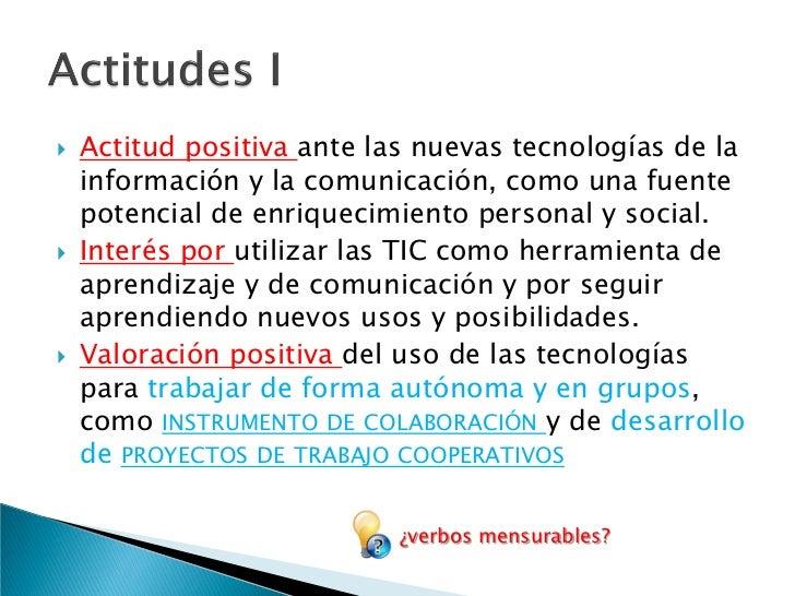    En síntesis, el tratamiento de la información y la    competencia digital implican ser una persona    autónoma, eficaz...