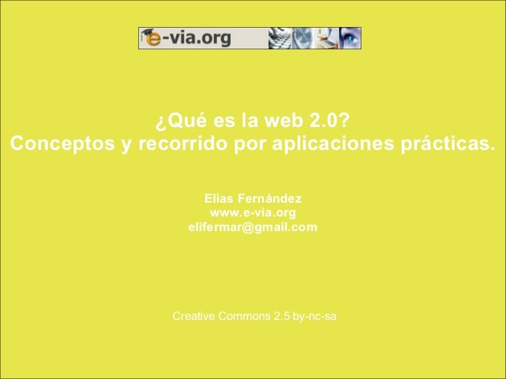 Creative Commons 2.5 by-nc-sa