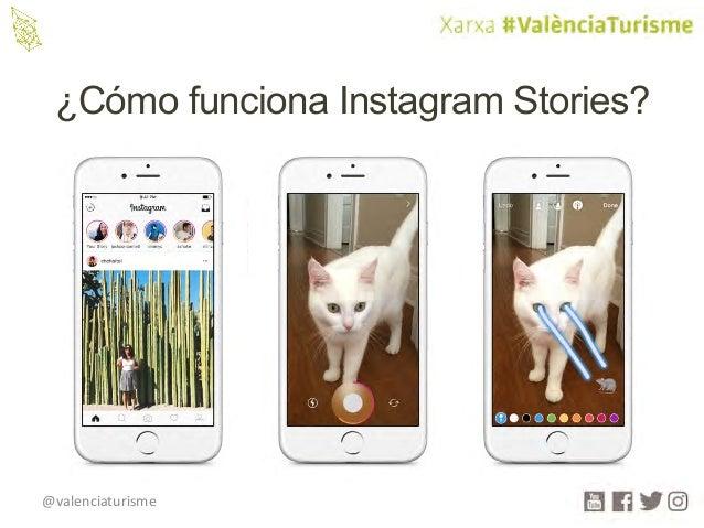 @valenciaturisme ¿Cómo funciona Instagram Stories?