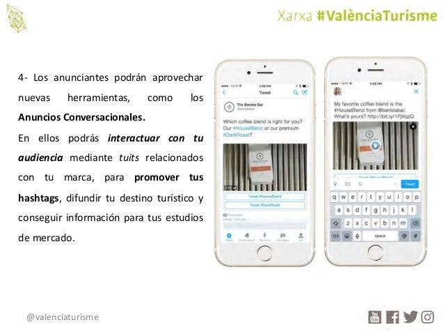 @valenciaturisme 4- Los anunciantes podrán aprovechar nuevas herramientas, como los Anuncios Conversacionales. En ellos po...