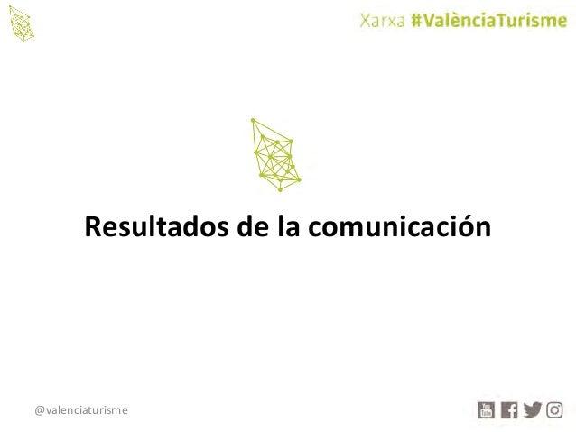 @valenciaturisme Resultadosdelacomunicación