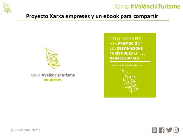 @valenciaturisme ProyectoXarxa empreses yunebook paracompartir