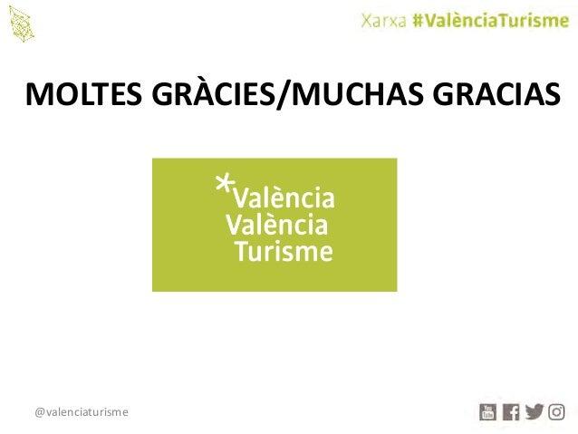 @valenciaturisme MOLTESGRÀCIES/MUCHASGRACIAS
