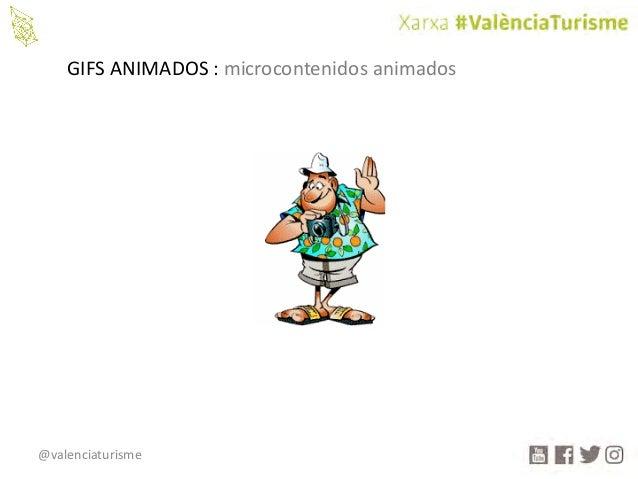 @valenciaturisme GIFSANIMADOS:microcontenidos animados