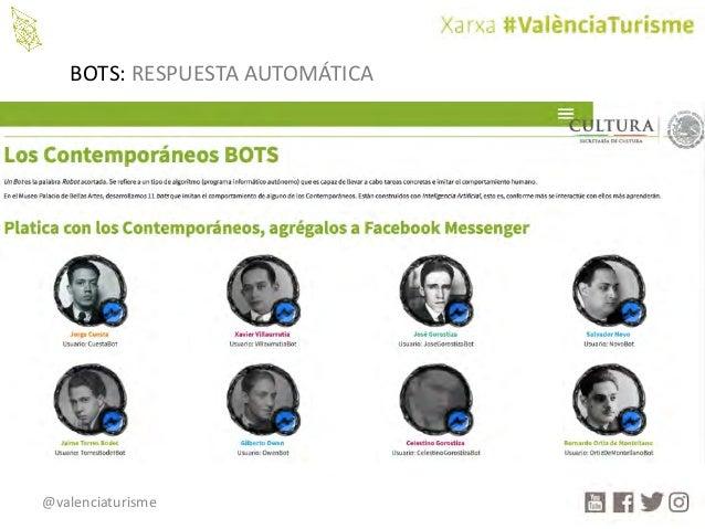 @valenciaturisme BOTS: RESPUESTAAUTOMÁTICA