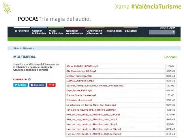 @valenciaturisme PODCAST: lamagiadelaudio.
