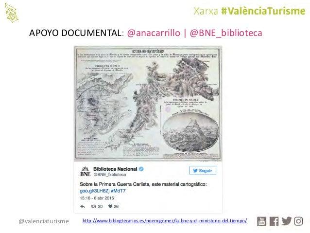 @valenciaturisme APOYODOCUMENTAL:@anacarrillo |@BNE_biblioteca http://www.biblogtecarios.es/noemigomez/la-bne-y-el-mini...