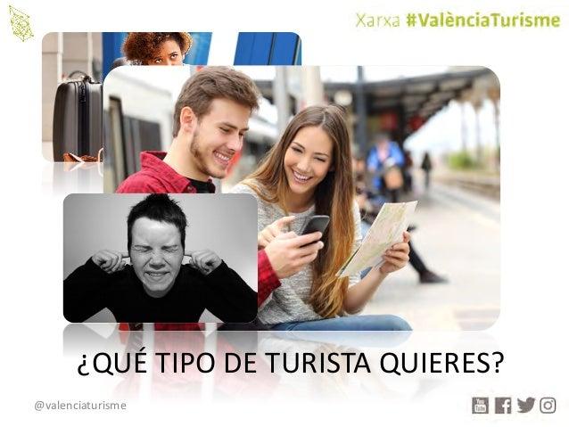 @valenciaturisme ¿QUÉTIPODETURISTAQUIERES?