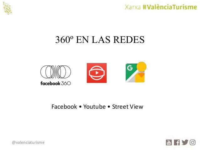 @valenciaturisme 360º EN LAS REDES Facebook•Youtube •StreetView
