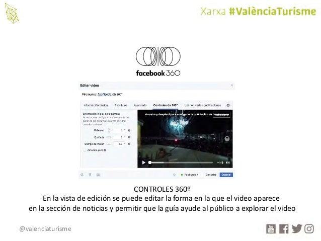 @valenciaturisme CONTROLES360º Enlavistadeediciónsepuedeeditarlaformaenlaqueelvideoaparece enlasección...