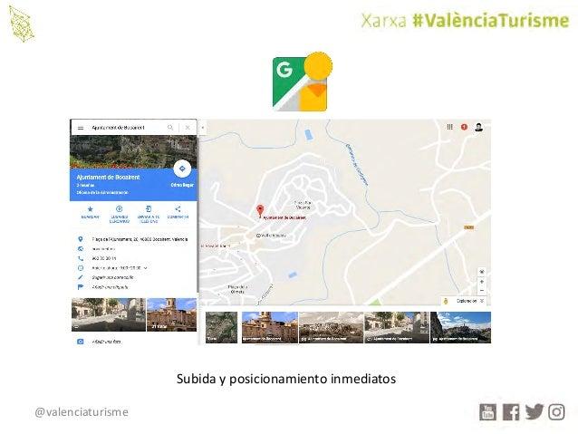 @valenciaturisme Subidayposicionamientoinmediatos