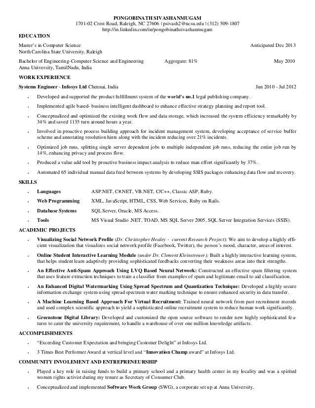 pongobinath sivashanmugam resume