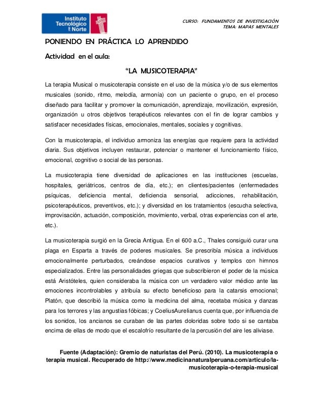CURSO: FUNDAMENTOS DE INVESTIGACIÓN                                                                    TEMA: MAPAS MENTALE...