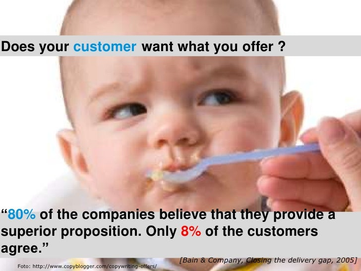 """Zoom in op uw klant en spot kansen voor nieuwe diensten      IntroductieDoes your customer want what you offer ?""""80% of t..."""
