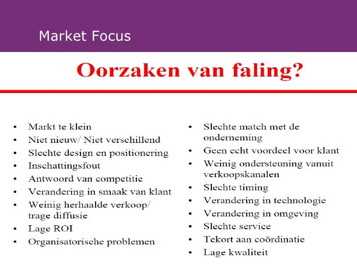 Market Focus               © Innovatiecentrum Limburg vzw
