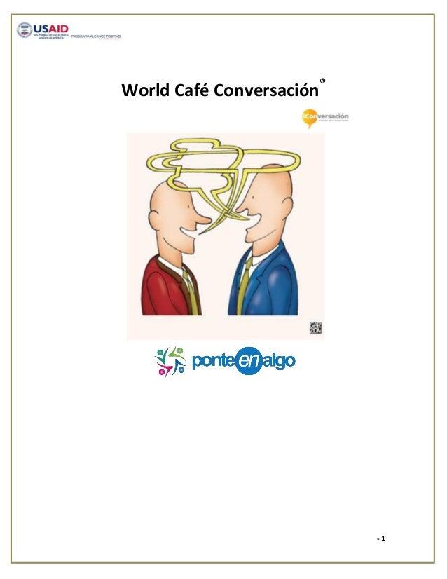 World Café Conversación®                           -1