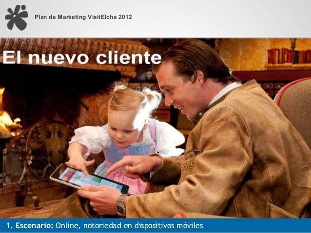 Plan de Marketing VisitElche 20121. Escenario: Online, notoriedad en dispositivos móviles