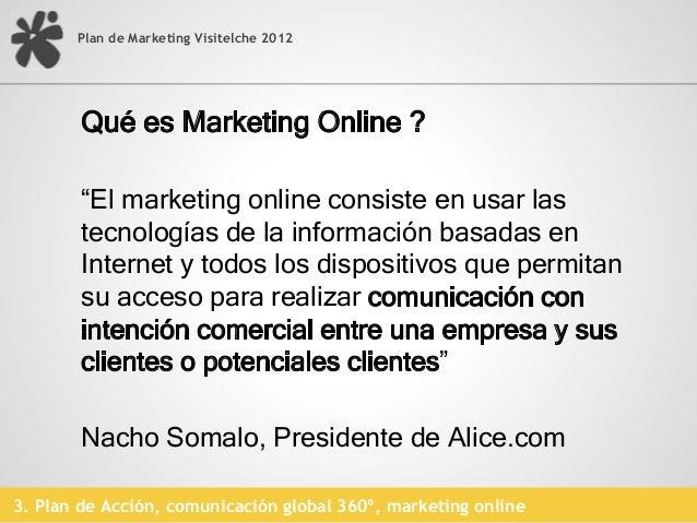 Plan de Marketing Visitelche 2012                                                     Códigos QR                          ...
