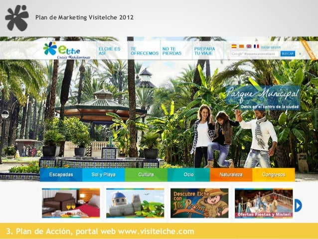 Plan de Marketing Visitelche 2012                                                            13.000 entradas / mes        ...