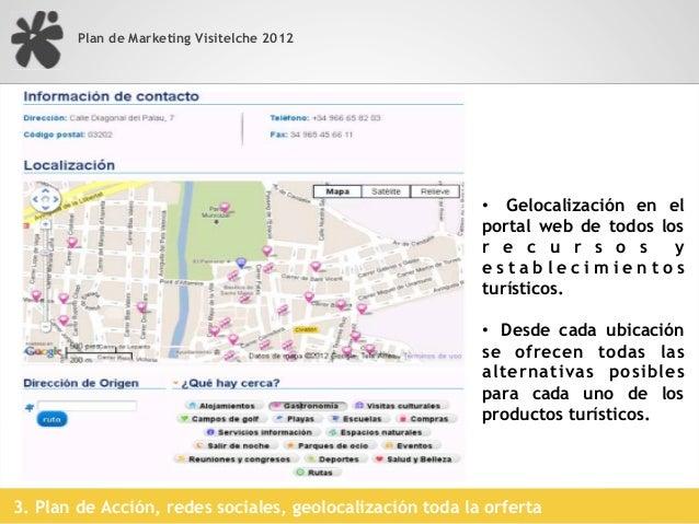 Plan de Marketing VisitElche 2012                                           Campaña dinamización stand Fitur 2012         ...