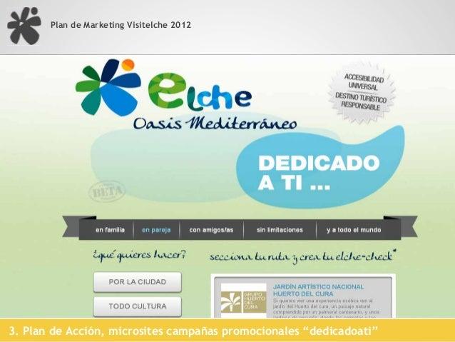 Plan de Marketing Visitelche 2012                                            Mercado                                      ...