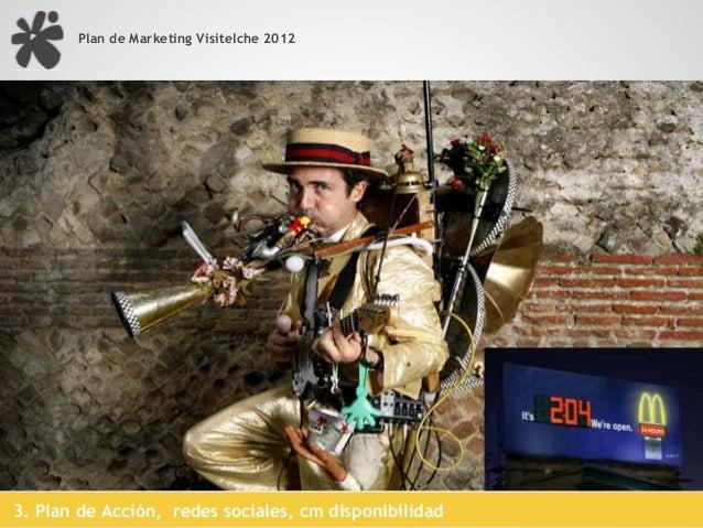 Plan de Marketing Visitelche 2012                                       Posicionamiento social, SMO     Social Media Optim...