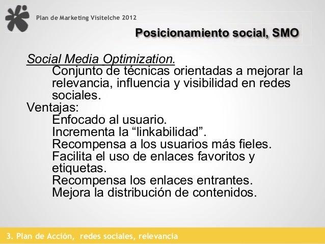 Plan de Marketing Visitelche 2012   Aprender en tiempos de redes, 14 cuestiones a reflexionar   1. Identificar para que lo...