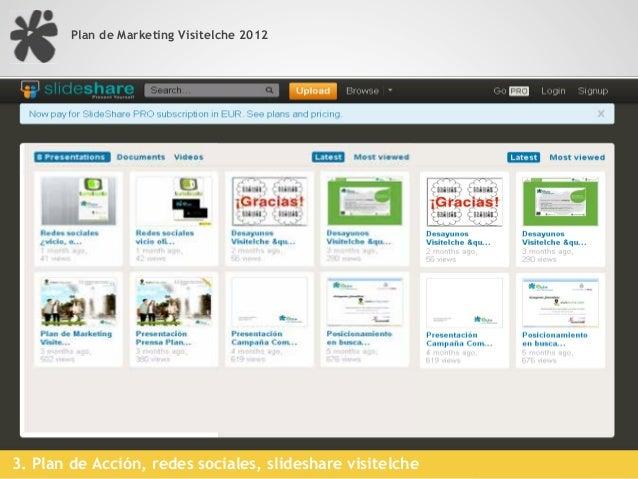 Plan de Marketing Visitelche 2012      BBDD                        • Visuales por producto   FOTOGRAFÍAS                  ...
