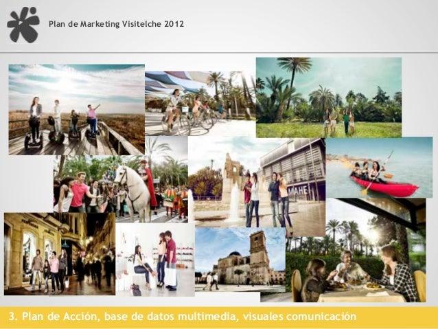 Plan de Marketing Visitelche 20123. Plan de Acción, base de datos multimedia, vídeos