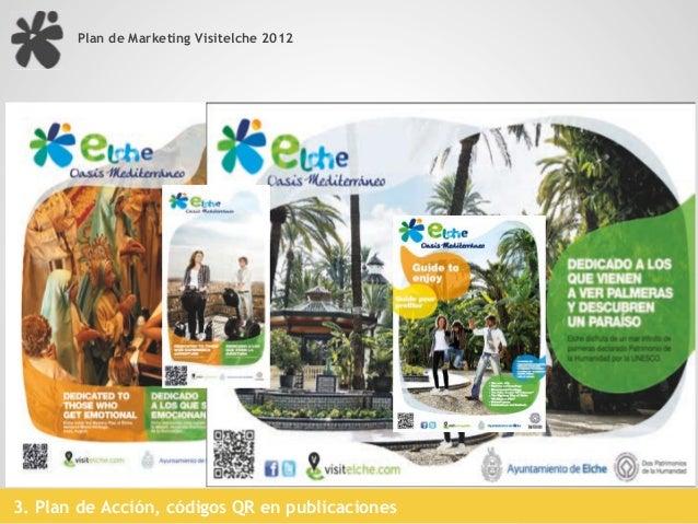 Plan de Marketing Visitelche 2012                                                             Códigos QR3. Plan de Acción,...