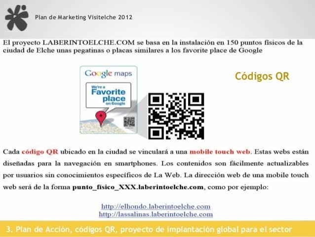 Plan de Marketing Visitelche 2012                                           Audioguía online:                             ...