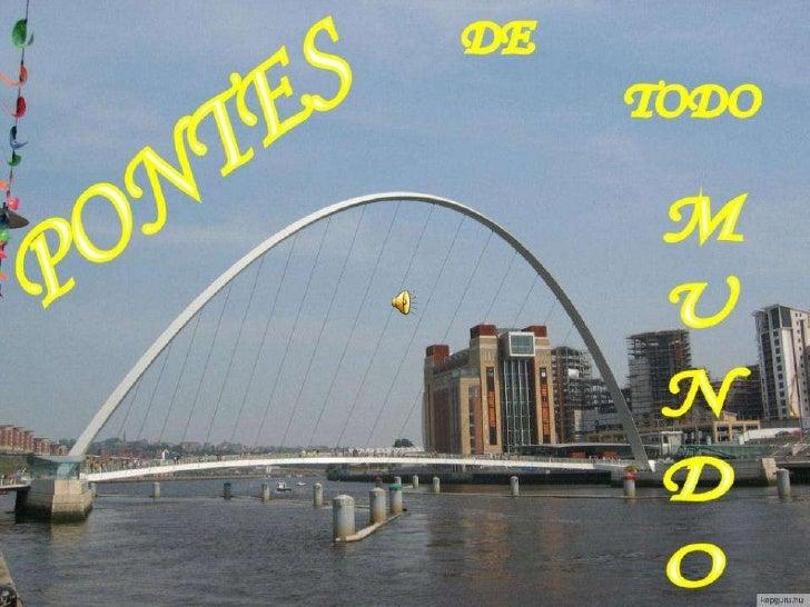 Pontes de todo mundo (som)