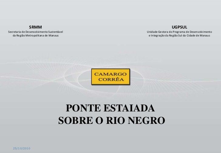 SRMM                                                 UGPSULSecretaria de Desenvolvimento Sustentável          Unidade Gest...