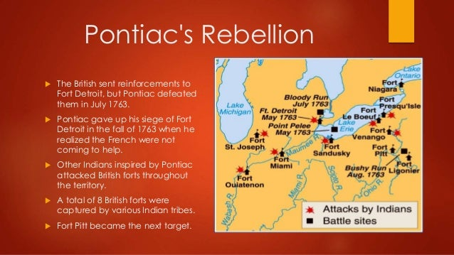 Pontiac`s Rebellion