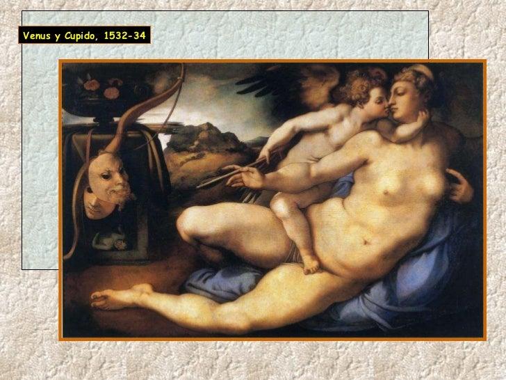 Venus y Cupido, 1532-34