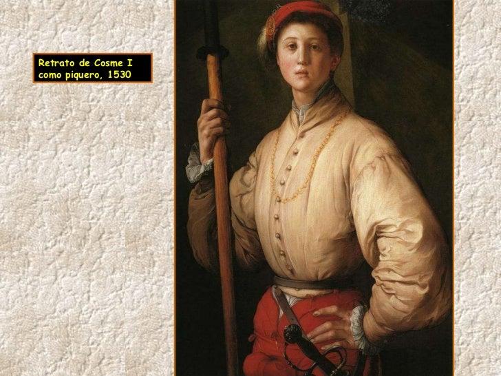 Retrato de Cosme I como piquero, 1530