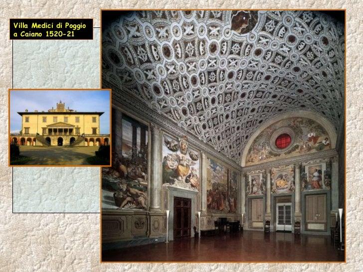 Villa Medici di Poggio a Caiano 1520-21