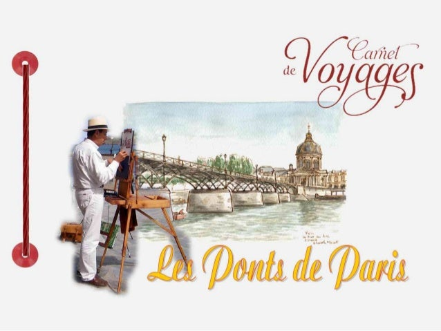 Dans sa course parisienne, la Seine est traversée par 37 ponts, dont ungrand nombre est classé au répertoire des monuments...