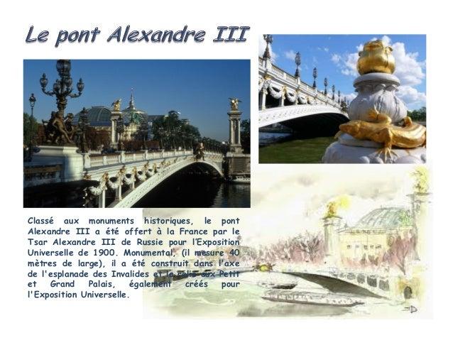 Classé aux monuments historiques, le pont Royal est le troisième pont le plus ancien de Parisaprès le pont Neuf et le pont...