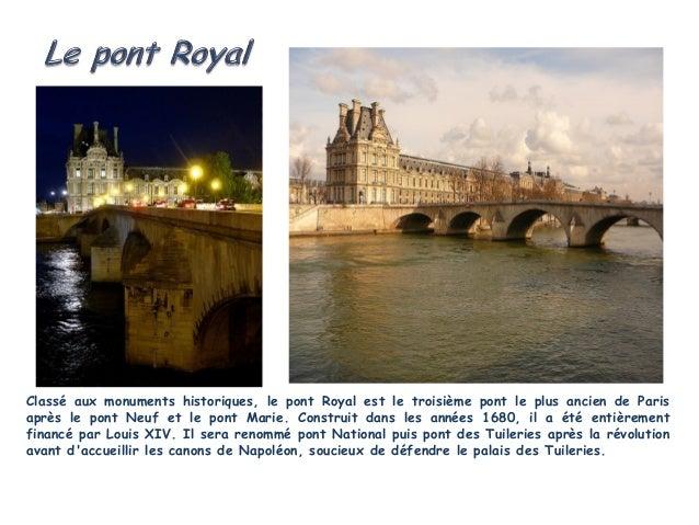 Le pont Neuf, qui vient de fêter ses 400 ans, est le plusancien de Paris. Et pourtant, il est le plus long à traverserla S...