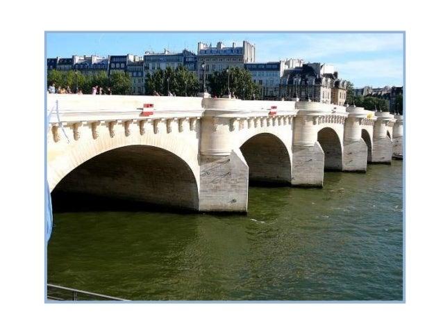 Dissymétrique, le pont de la Tournelle épouse volontairement les courbes suivies par la Seineà cet endroit. L'origine de s...